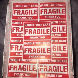 Other - Fragile Stickers